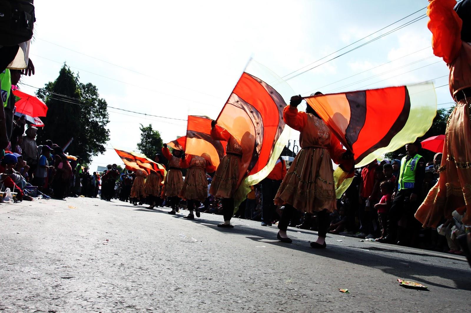 Karnaval Kabupaten Karanganyar 2017 Hut Ri 72 Intanpari Star Alun