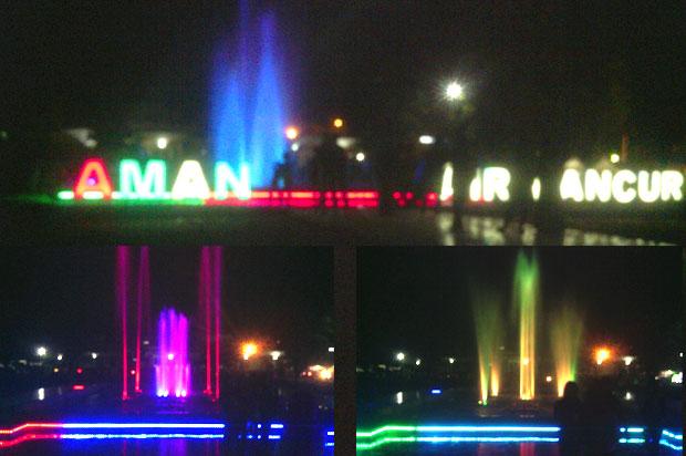 Taman Air Mancur Karanganyar Menarikkah Omprap Pancasila Kab