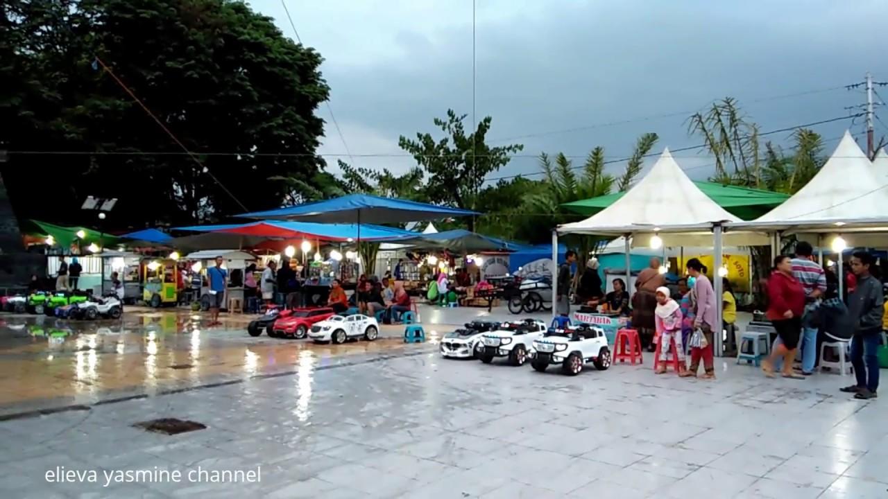 Taman Pancasila Karanganyar Pasar Sore Lengkap Murah Meriah Kab