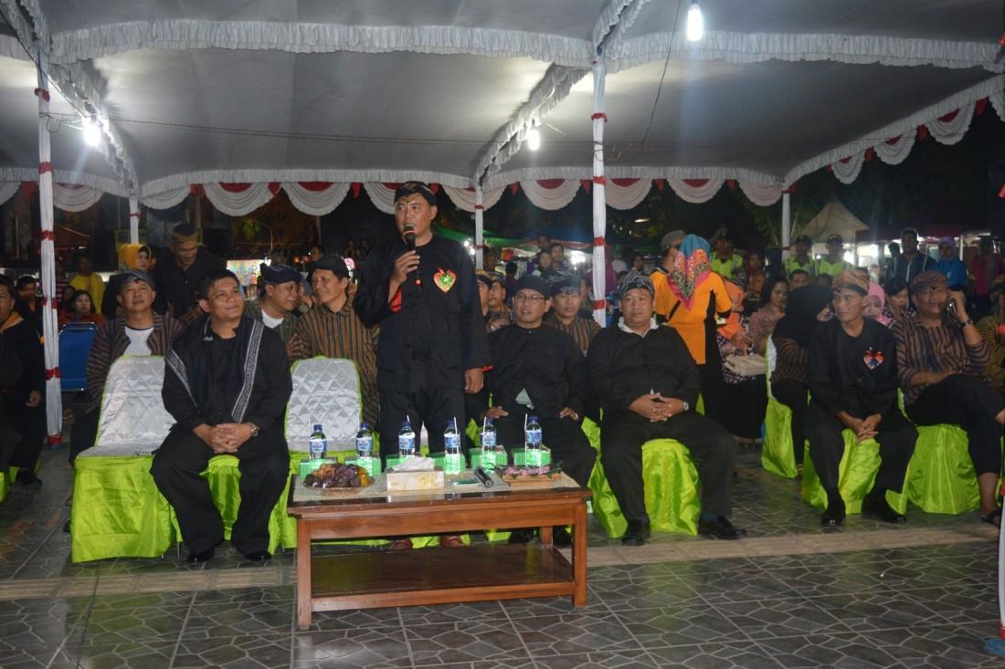 Tingkatkan Keamanan Pemkab Gelar Lomba Siskamling Antar Kecamatan Juliyatmono Sambutannya