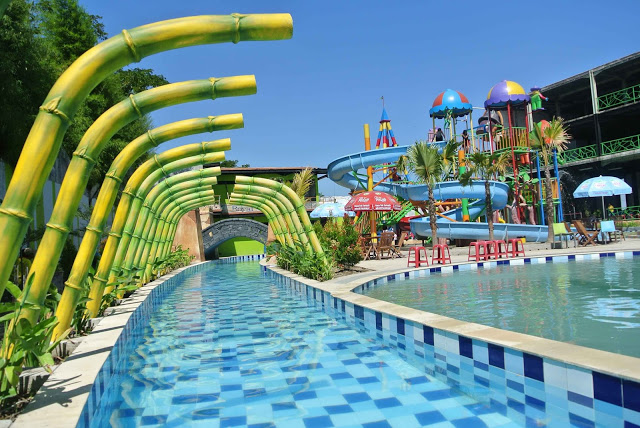 Royal Water Adventure Soloraya Menurut Dicksen Hari Biasa Waterboom Bekerja