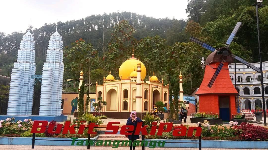 Karanganyar Sportourism Bukit Sekipan Bekas Pelatihan Militer Jadi Tempat Wisata