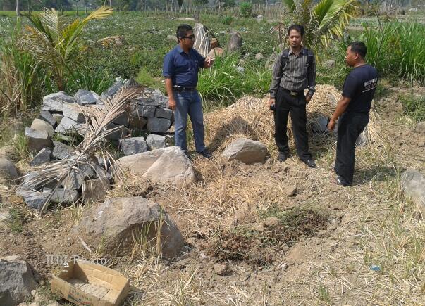 Penggalian Ilegal Terjadi Situs Watu Kandang Karanganyar Cek Bp3 Jateng
