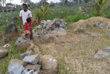 Penggalian Ilegal Terjadi Situs Watu Kandang Karanganyar Warga Desa Karangbangun