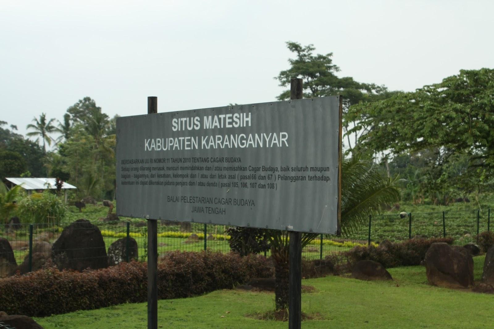Situs Watu Kandang Matesih Karang Anyar Noto Budiyanto Kab Karanganyar