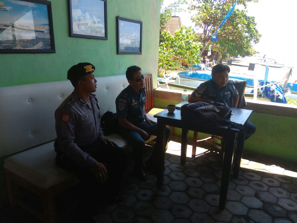 Ciptakan Situasi Aman Polsubsektor Amed Polsek Abang Polres Polda Bali