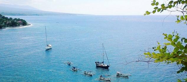 Kabupaten Karangasem Bali Berlibur Pantai Amed Surganya Snorkeling Kab