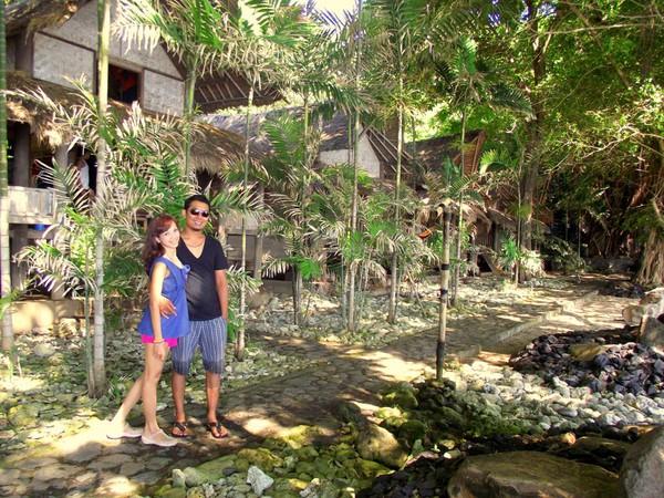 Lekuk Seksi Garis Pantai Amed Bali Bungalow Kab Karangasem