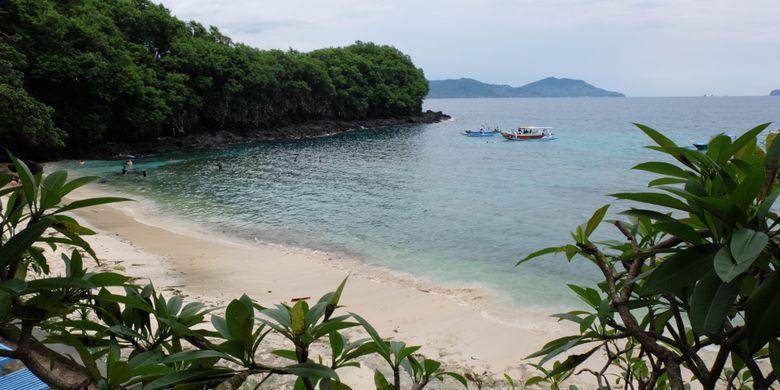 Lima Pantai Cantik Karangasem Bali Kompas Blue Lagoon Amed Kab