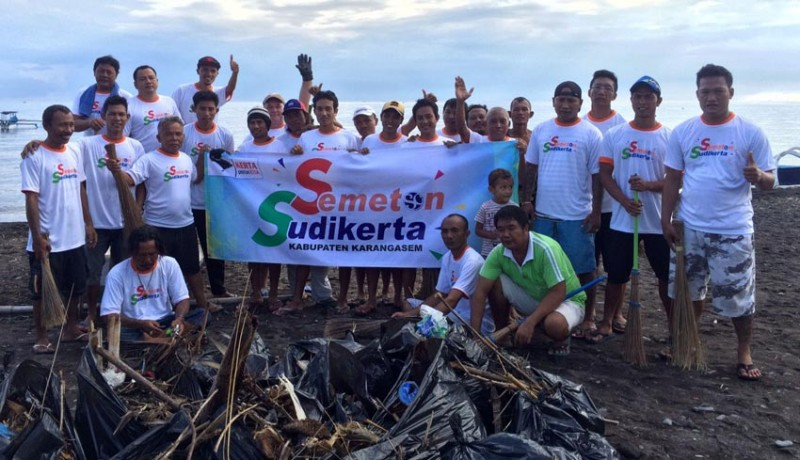 Nusabali Muncul Pantai Amed Semeton Sudikerta Aksi Bersih Www Kab