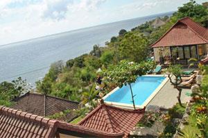 Objek Wisata Amed Karangasem Bali Acarya Bungalows Hotel Murah Pantai