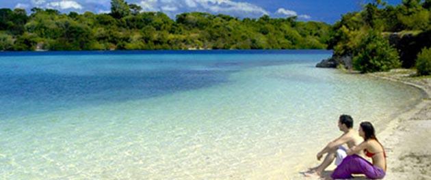 Objek Wisata Kabupaten Karangasem Bali Indonesia Island Pantai Cantik Letaknya