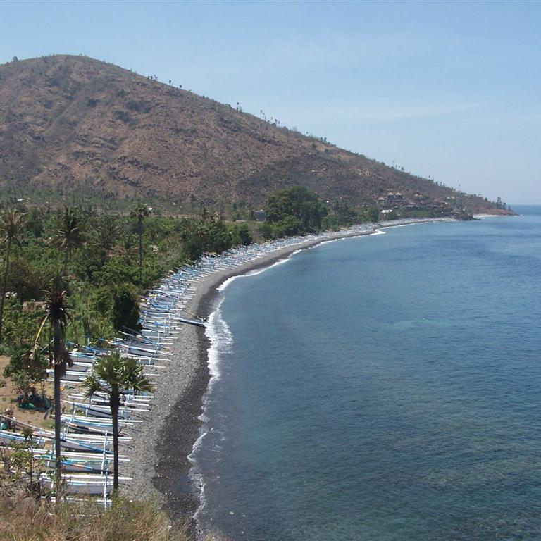 Pantai Amed Bali Surga Wisata Diving Diwira Tour Travel Kab