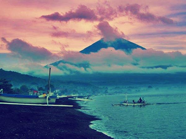 Pantai Amed Tulamben Wisata Bali Murah Kab Karangasem