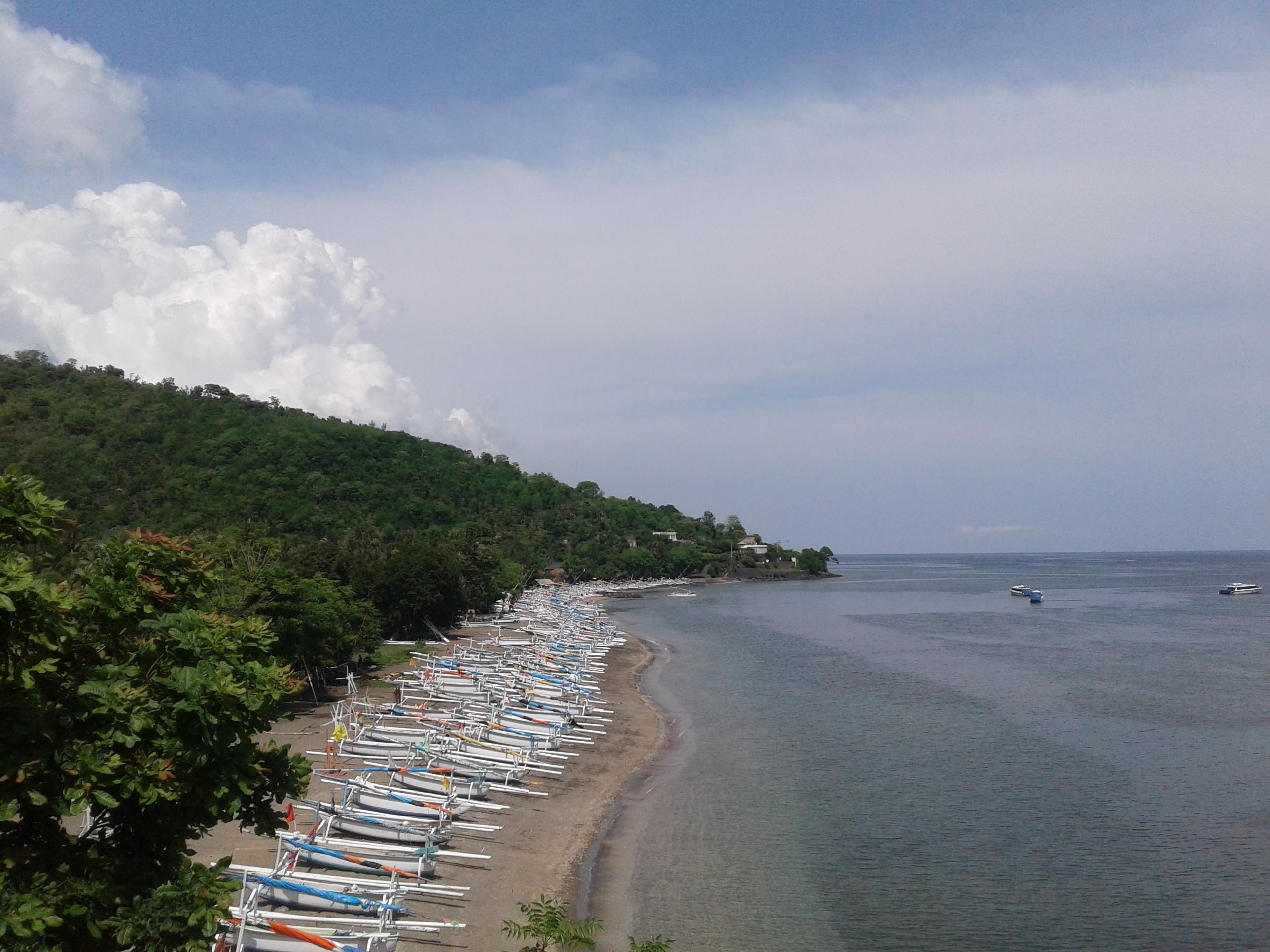 Pantai Lean Bali Vidio Terletak Desa Bunutan Kecamatan Abang Kabupaten
