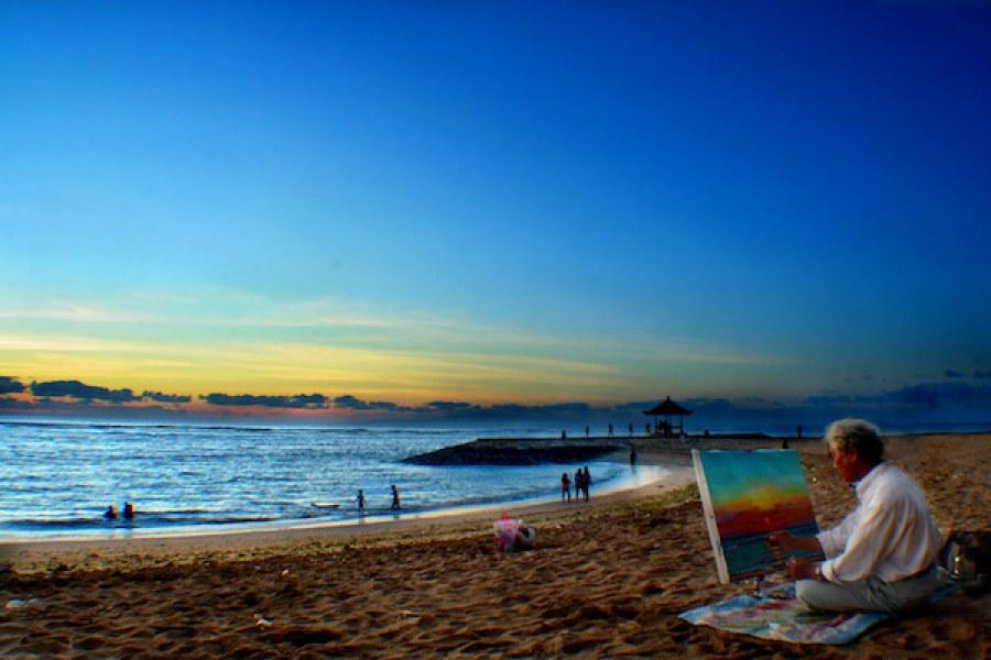 Pantai Terpopuler Bali Versi Pemburu Ombak 5 Amed Kab Karangasem