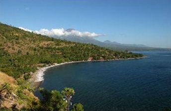 Pesona Pantai Bali Indonesia Amed Tulamben Indah Lokasinya Bersebelahan Terletak