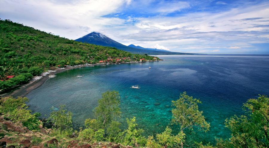 Snorkeling Pantai Amed Bali Pemandangan Alam Bawah Lautnya Juara Kab
