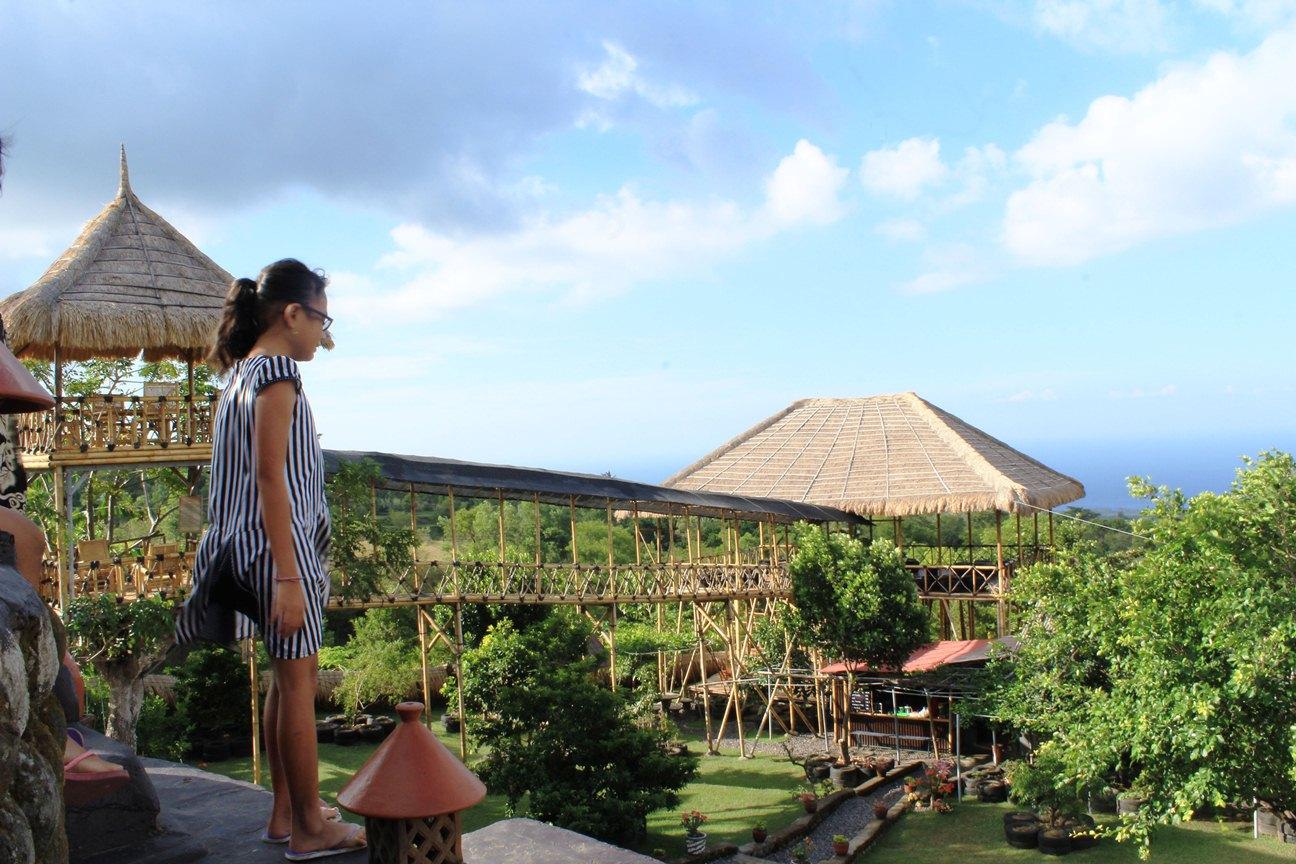 Blog Pribadi Nyoman Pasek Rumah Pohon Batudawa Karangasem Komang Friska