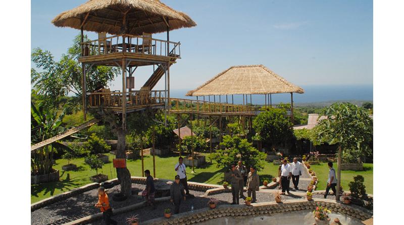 Dewan Sidak Rumah Pohon Berharap Kontribusi Pendapatan Seputar Bali Karangasem