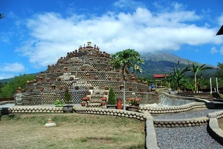 Rumah Pohon Batudawa Pemandangan Gunung Agung Karangasem Kab