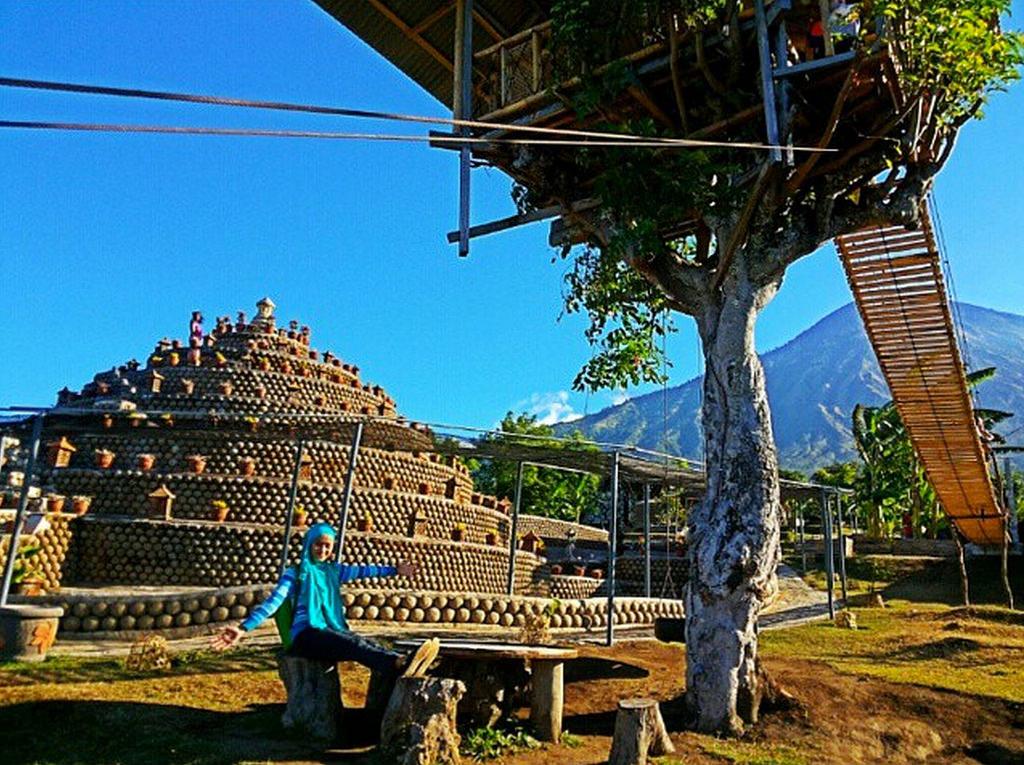 Rumah Pohon Desa Batu Dawa Keunikan Berbeda Karangasem Bali Kab
