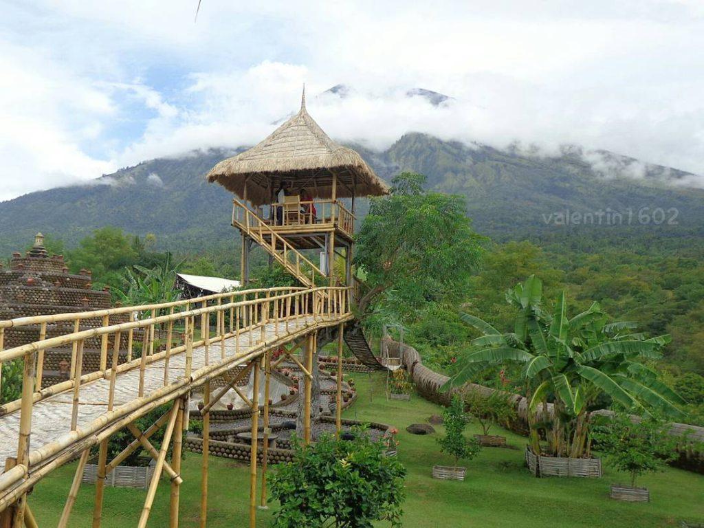 Rumah Pohon Desa Batu Dawa Tulamben Wisata Alam Karangasem Awal