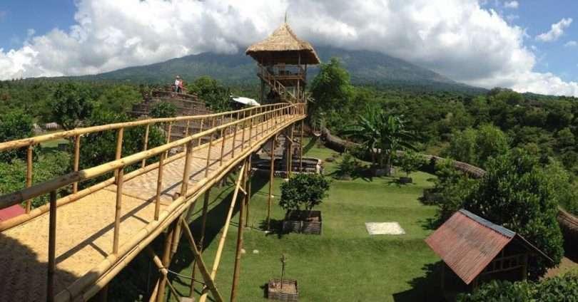 Rumah Pohon Karangasem Wisata Hits Bali Kab