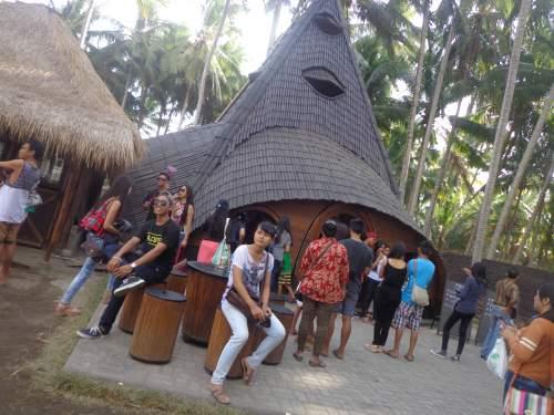 Tempat Objek Wisata Kabupaten Karangasem Bali Indonesia Rumah Pohon Kab