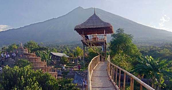 Tree House Karangasem Regency Bali Teenagers Rumah Pohon Kab