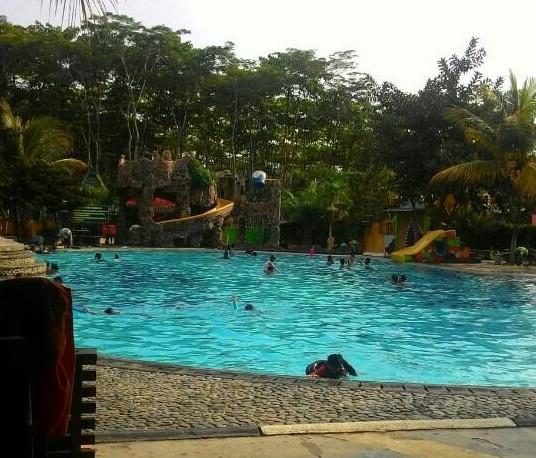 Pesona Indonesia Tempat Wisata Kebumen Menarik Dikunjungi Gading Splash Water