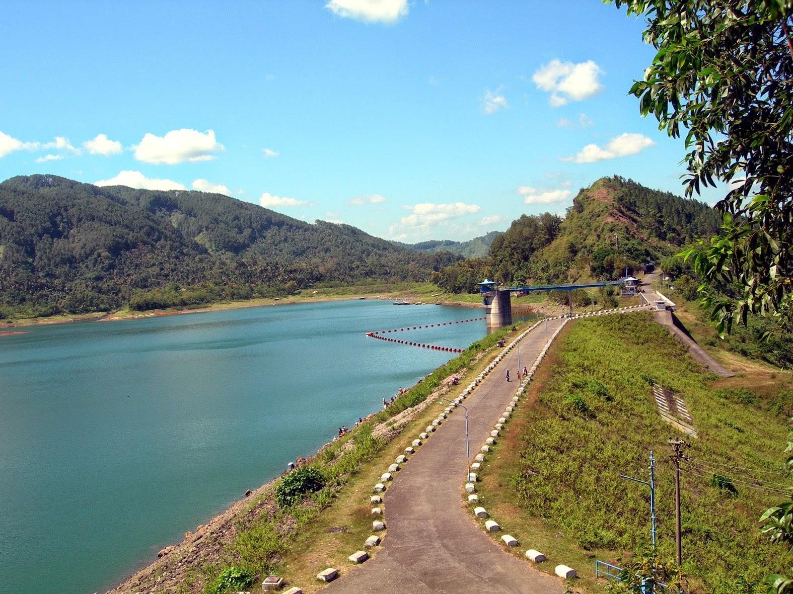 Waduk Sempor Wisata Kabupaten Kebumen Arung Jeram Padegolan Kab