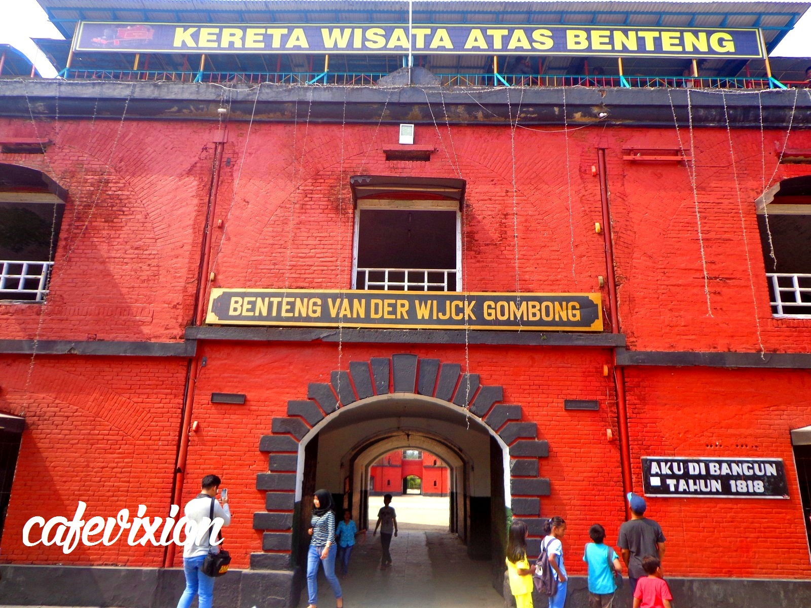 Benteng Van Der Wijck Segi Delapannya Indonesia Hanifdn Terletak Jl