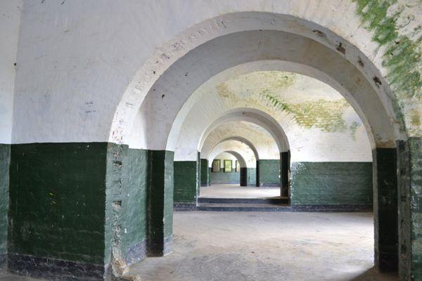 Van Der Wijck Gomobong Fort Built Dutch East Indies 18th