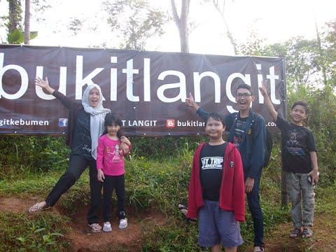 Bukit Langit Desa Giripurno Kecamatan Karangayar Kebumen Youtube Kab
