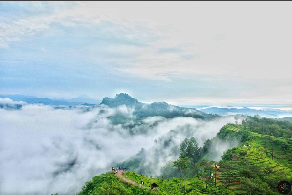 Bukit Langit Kebumen Landscape Alam Memanjakan Mata Kab