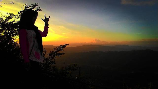 Bukit Langit Tebing Keraton Versi Kebumen Foto Sunset Sendiri Kab