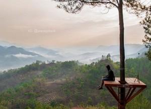 Bukit Pentulu Indah Karangsambung Kebumen Informasi Sejarah Langit Kab