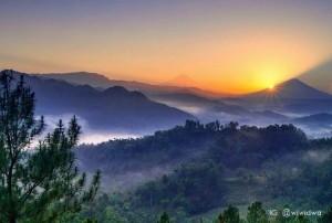Bukit Pentulu Indah Karangsambung Kebumen Informasi Sejarah Pi Langit Kab