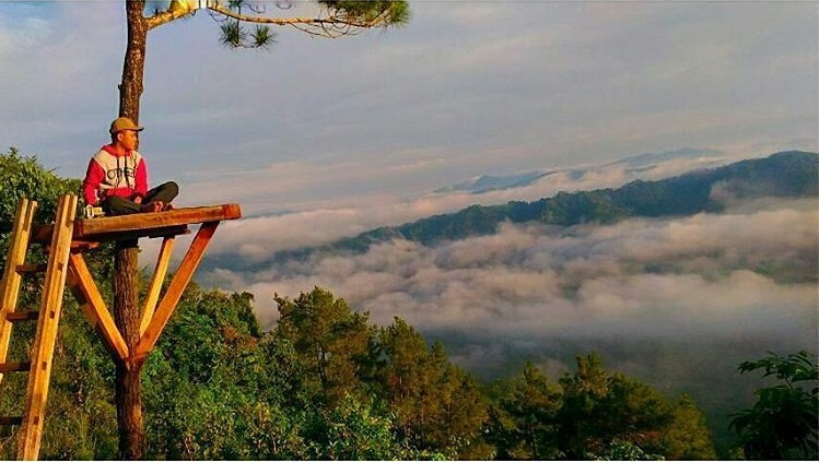 Kerennya Pesona Wisata Bukit Langit Kebumen Travel Story Kabupaten Berjarak