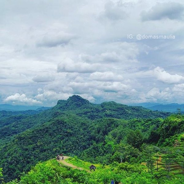 Lintas Kebumen Twitter Photo Bukit Langit Terletak Dusun Kebang Abang