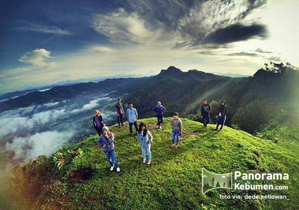 Wisatapangandaran Wisata Kebumen Cilacap Bukit Langit Kab