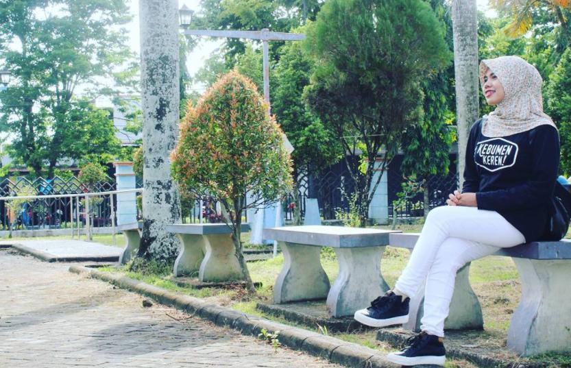 14 Tempat Wisata Hits Kebumen Rekomended Dikunjungi Taman Kota Jenderal