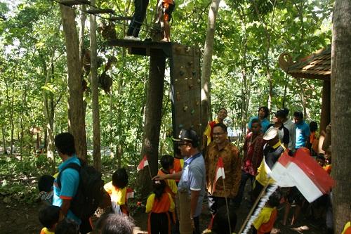 Adventure Outbond Jemur Park Kebumen Zona Libur Kab