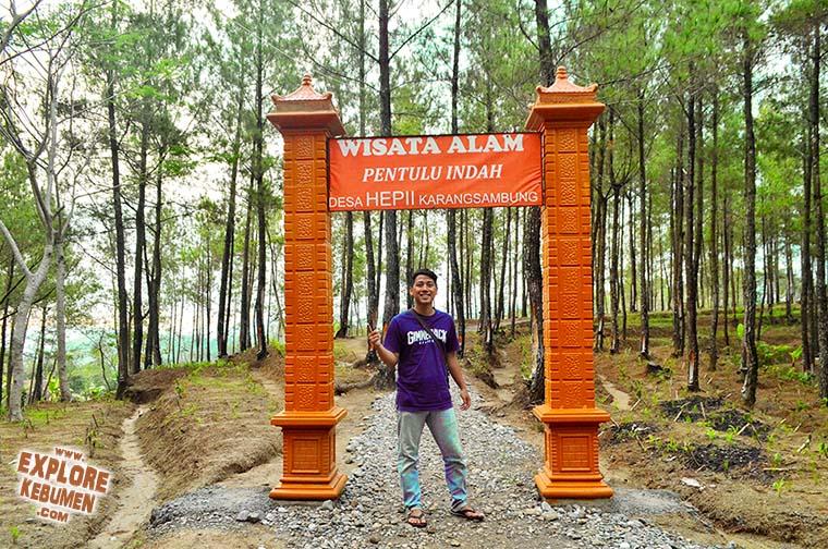 Bukit Pentulu Indah Pi Karangsambung Mempesona Explore Kebumen Jemur Adventure