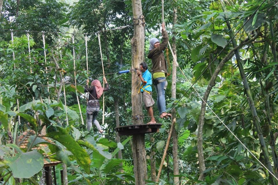 Jemur Advanture Park Wisata Kabupaten Kebumen Adventure Kab