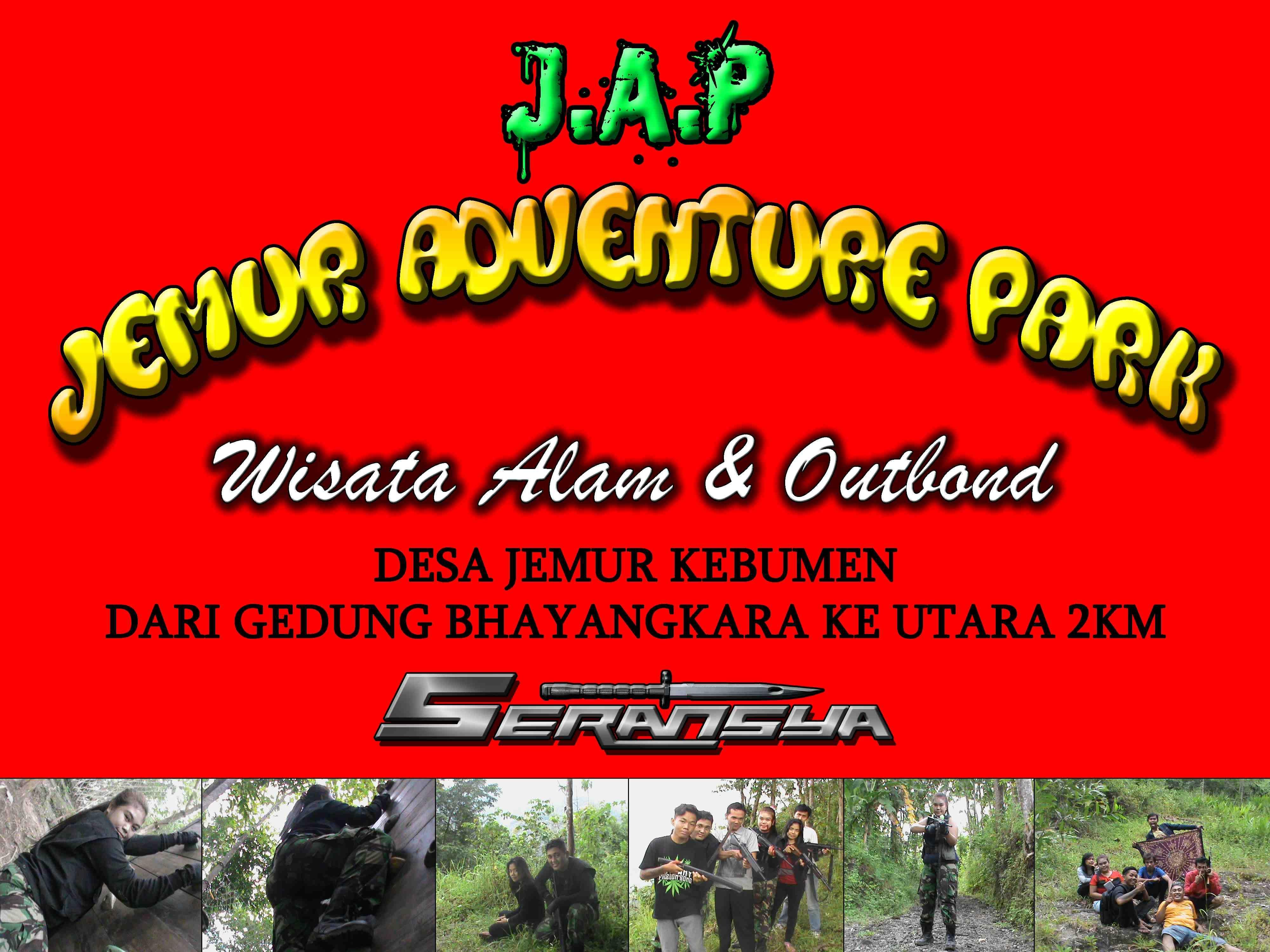 Jemur Adventure Park Wisata Alam Outbond Kebumen Youtube Kab
