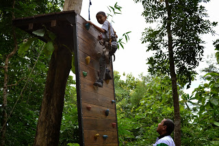 Juni Aminudin Wisata Terbaru Kebumen Jemur Adventure Park Mini Wall