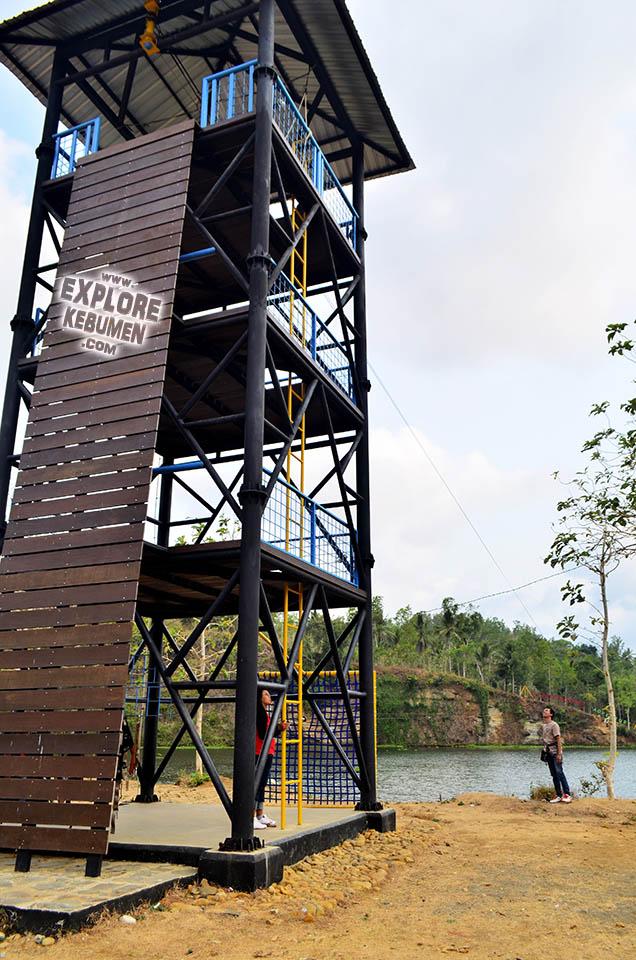 Kedungdowo Adventure Park Wisata Alam Kebumen Explore Jemur Kab