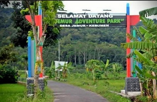 Pesona Keindahan Wisata Jemur Adventure Park Kebumen Jawa Tengah Kab